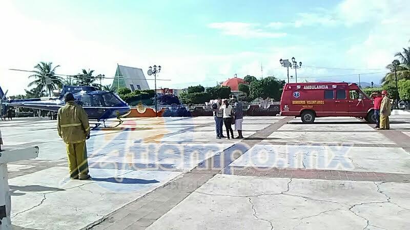 El accidente fue atendido por la Asociación de Bomberos del Estado de Michoacán (FOTO: FRANCISCO ALBERTO SOTOMAYOR)