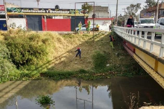 Gobierno Municipal mantiene acciones de limpieza en drenes y ríos de Morelia