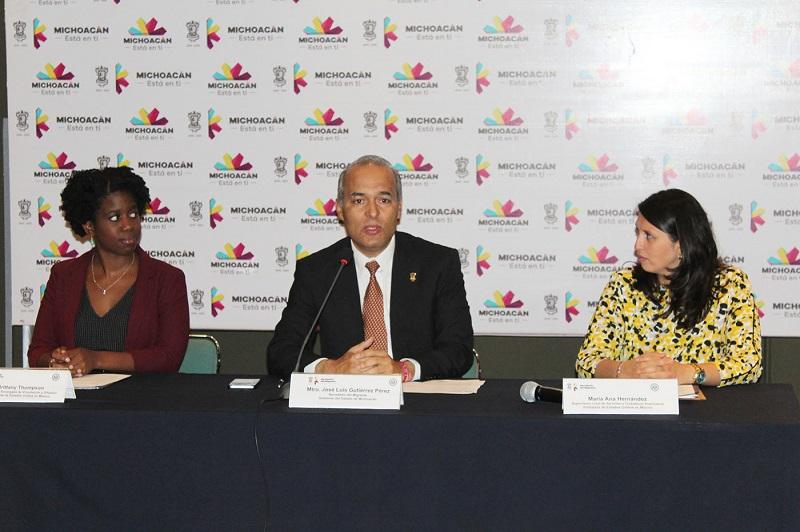 La inauguración del evento se llevó a cabo este lunes en el salón Charo de Casa de Gobierno