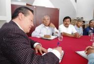 Ante autoridades civiles y agrarias de Caltzontzin, Martín García Avilés se comprometió a trabajar para que la suya sea una comunidad modelo donde converjan la acción gubernamental y la voluntad social