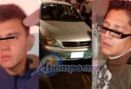 Ambos individuos han sido trasladados al área de Barandilla de la SSP de Michoacán; se pide a la población presentar la denuncia correspondiente en caso de que sean reconocidos como autores de otros delitos