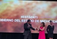 Lo anterior, al recibir la distinción Reed Latino Awards 2016, en dicha categoría, premio que otorga la revista Campaigns and Elections, tras un análisis de las mejores estrategias en materia política, electoral y publicitaria