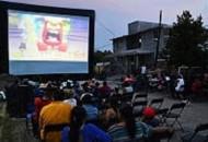 """Cientos de pobladores de la comunidad asistieron a la proyección de la película """"Intensamente"""""""