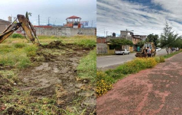 La administración municipalinvita a la ciudadanía a mantener en óptimas condiciones áreas de recreación y apoyar en el mantenimiento integral de éstas