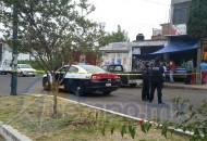 Al lugar arribaron elementos de la Policía Michoacán de la Secretaría de Seguridad Pública (SSP) de Michoacán para acordonar la zona