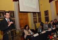 """Encabeza el rector Medardo Serna la conmemoración del 40 aniversario de la Facultad de Economía """"Vasco de Quiroga"""""""