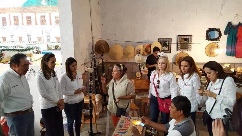 Jaime Rodríguez López y Sandra Albarrán de Calzada, manifestaron tanto a los productores de cantera como de esfera, que la SAGARPA estará enfocada en buscar oportunidades de crecimiento para ellos