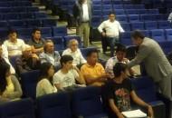 Serna González se comprometió a realizar una gestión a la que podrán sumarse todos los integrantes de la comunidad nicolaita para lograr se canalicen más recursos para la Universidad Michoacana