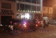 Policía Michoacán Unidad Morelia y Grupo Tigre organizaron un operativo de búsqueda de los delincuentes, pero no tuvieron éxito
