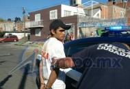 Tras la captura del ratero, Grupo Tigre procedió a entregarlo a elementos de la Policía Michoacán para que sea puesto a disposición de las autoridades correspondientes
