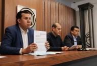 Hinojosa Pérez refirió que la funcionaria federal no puede ser la responsable del proyecto en Michoacán de PRImero Emprende y al mismo tiempo ostentar dicho cargo público, ya que viola artículo 134 constitucional en su párrafo octavo