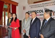 La diputada Adriana Hernández, señaló que este macro evento servirá para fortalecer, no sólo los trabajos legislativos de los congresos locales de las 32 entidades federativas