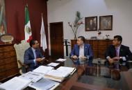 La intención del encuentro fue intercambiar experiencias y buscar gestionar recursos para Michoacán de los diferentes programas a nivel nacional, con el objeto de fortalecer la operatividad y efectividad de la seguridad en la entidad