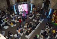 120 Jóvenes recibieron capacitación y platicas de parte del Comunicador, Jorge Zarza y del Director de Nacional Financiera, Tonatiuh Salinas Muñoz