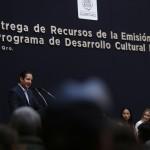 El gobernador Francisco Domínguez Servién expresó que la cultura promueve el empoderamiento de los ciudadanos como promotores y difusores de expresiones artísticas