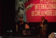 Willem Dafoe es el invitado de honor de la decimocuarta edición del FICM, por lo que se ha presentado una retrospectiva de ocho de sus películas más significativas, recibió la medalla de la Fimoteca de la UNAM y se develó una butaca con su nombre