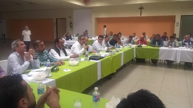 La intervención del Gobierno del Estado, fundamental para darle validez y certidumbre a las mesas de diálogo, reconocen productores