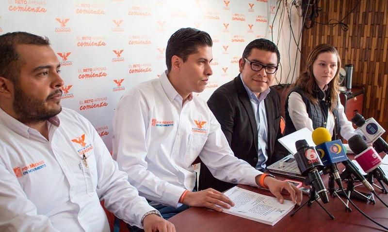 Movimiento Ciudadano lanzó un llamado a la FEPADE, Secretaría de la Función Pública e Instituto Electoral de Michoacán, instancias donde interpuso la denuncia para que a la brevedad eviten la utilización de recursos públicos para favorecer a un partido político