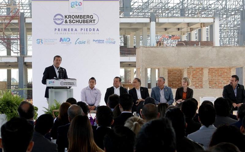 Guanajuato suma 19 empresas de origen alemán con una inversión de 555.05 millones de dólares y 10 mil 792 empleos generados