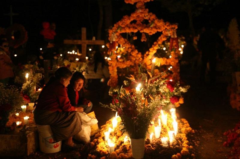 Vivieron las tradiciones michoacanas en un ambiente de paz y armonía