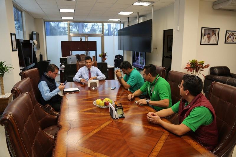 Corona Martínez precisó que los trabajadores de esta dirección contarán con todas las condiciones y herramientas necesarias para un mejor desempeño de sus labores