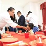 Con este Espacio de Alimentación, Encuentro y Desarrollo, se beneficiarán más de cien familias