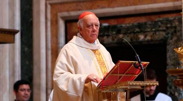 El Cardenal Suárez Inda, de 76 años, conforme al canon 401, inciso 1, del Código de Derecho Canónico, había presentado el año pasado su renuncia por límite de edad