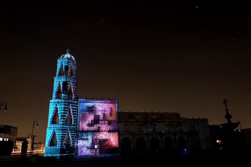 Este año los profesionales del mapping que nos visitan son de España, Bélgica, Perú, Suiza, Italia, Brasil, Canadá, Rusia, Guadalajara, Guanajuato y Ciudad de México; además artistas visuales morelianos también presentarán sus proyectos