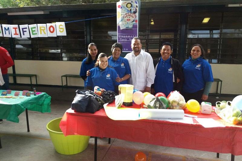 Del 2005 a la fecha, este programa ha beneficiado en Michoacán a mil 200 maestros y más de 77 mil estudiantes