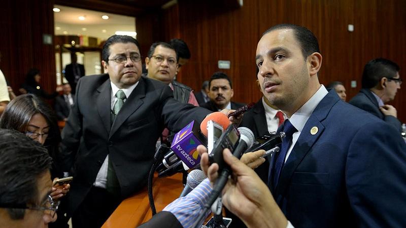 Cortés Mendoza hizo votos porque los acuerdos logrados no sigan comprometiendo el futuro de los michoacanos y sean en el marco de la ley en la materia