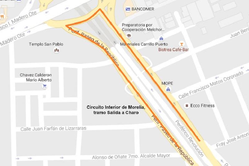 Por ello, y con el apoyo de la Dirección de Tránsito de la entidad, la SCOP dispone de vías alternas para la circulación de los automotores alrededor de la zona de los trabajos.