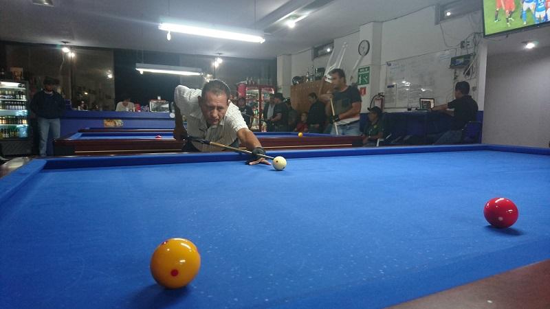 El Torneo Estatal de Carambola a 3 Bandas, desarrollado en el Café Carambola de la colonia Ventura Puente de esta ciudad, contó con la asistencia de 42 billaristas de Pátzcuaro y Morelia