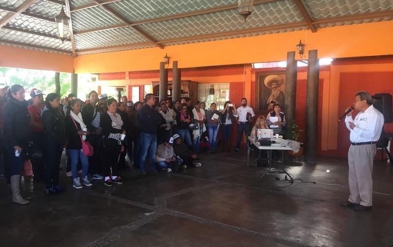Jaime Rodríguez López, delegado de la SAGARPA en Michoacán, informó que la mesa de trabajo trabajará para dictaminar quienes serán las empresas encargadas de ofrecer su producto para la realización de los mil 321 proyectos contemplados