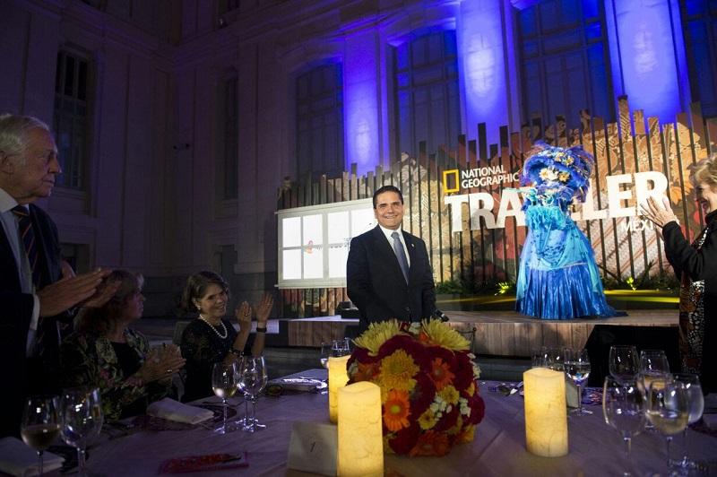 El gobernador Silvano Aureoles inaugura la muestra de esta tradición en el Palacio de Cibeles, en la capital española