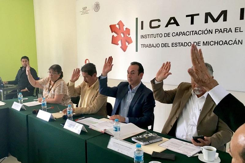 Soto Sánchez invitó al nuevo responsable del ICATMI para que con un alto sentido de la responsabilidad, se conduzcan los trabajos en todos los planteles del estado
