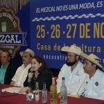 Por su parte Emilio Vieyra Vargas, Presidente Estatal del Sistema Producto Maguey-Mezcal, dijo que este foro de promoción resulta de suma importancia para el gremio dedicado a la producción de esta bebida