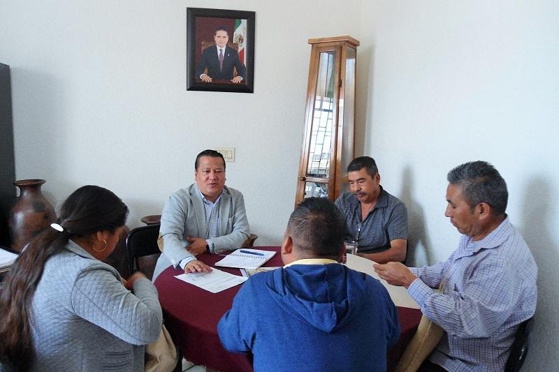 Martín García Avilés recordó que en las tres semanas que ha estado al frente de la SPI se ha reunido con más de un centenar de autoridades civiles y agrarias tanto purépechas, como mazahuas, otomíes y pirindas
