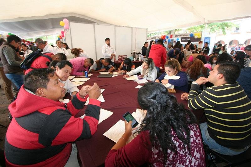 Continúan acciones gubernamentales para abatir los índices de desempleo en Michoacán