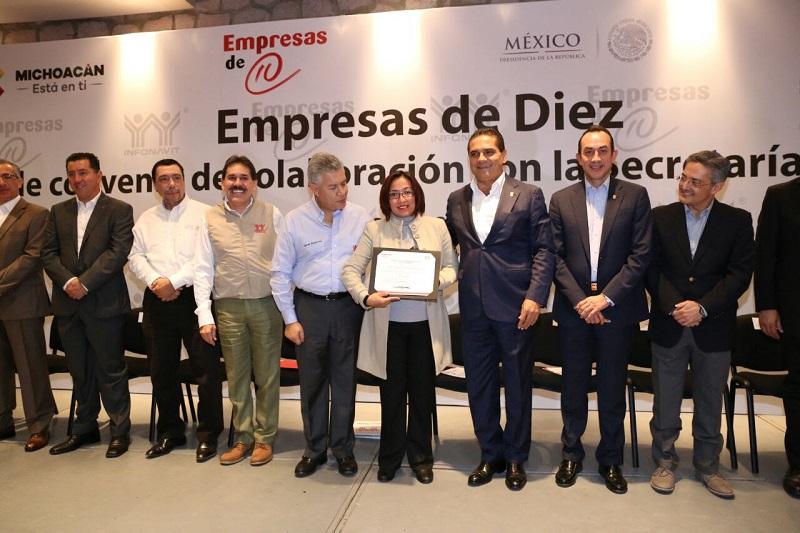 Durante este año, el desarrollo de la vivienda ha permitido la generación de 32 mil 500 empleos directos e indirectos en Michoacán