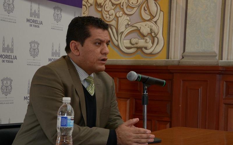 Lo anterior lo anunció en rueda de prensa el encargado de las arcas municipales, Alberto Guzmán Díaz