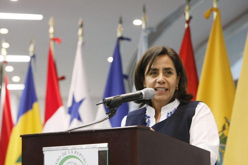 """La parlamentaria agregó que """"el principal reto de estos trabajos para América Latina y el Caribe es unir esfuerzos como países latinoamericanos para seguir trabajando en el contexto del desarrollo sostenible y del medio ambiente"""""""