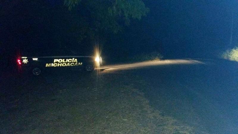 El despliegue de elementos de la Policía Michoacán en la zona costa y el diálogo permitió que los accesos al municipio quedaran liberados