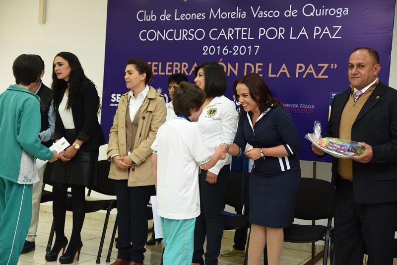 Villanueva Cano destacó el gran compromiso de quienes integran el Club de Leones de Morelia por construir una sociedad más participativa y con las mismas oportunidades para todos