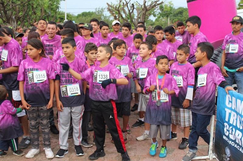En total el serial recorrerá 21 municipios y se espera activar a 15 mil michoacanos y michoacanas