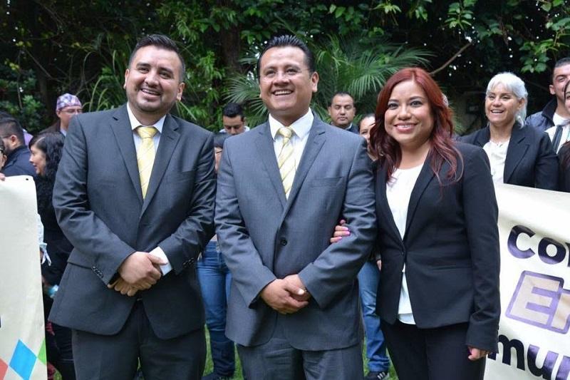 Los diputados María Concepción Valdés Ramírez y Erik Juárez Blanquet presentaron su Primer Informe Legislativo
