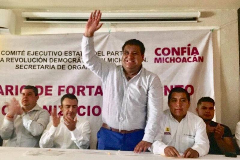"""""""El reto es el 2018 y el objetivo fundamental es construir un cambio verdadero en México"""", puntualizó el también coordinador de la bancada perredista de la LXXIII legislatura local"""