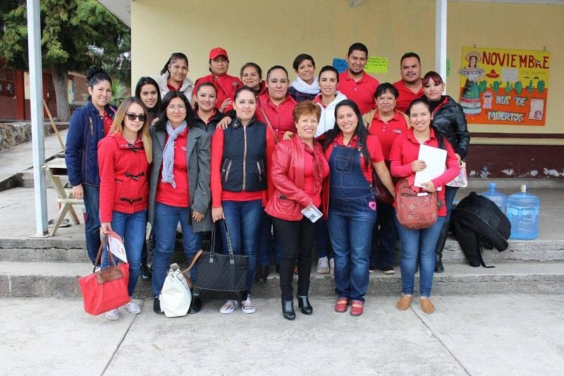 Flores García, manifestó sentirse orgullosa del trabajo realizado por todos los equipos integrantes de este proyecto educativo, que se encarga de crear las condiciones más óptimas para los niños que atraviesan la primera infancia