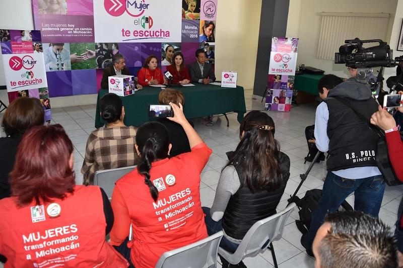 Las mujeres que deseen participar con propuestas o ponencias, podrán conocer el cuestionario y el formato de ponencia ingresando a la FanPage Onmpri Michoacán (ONMPRIMich) o el Twitter Onmpri_Mich