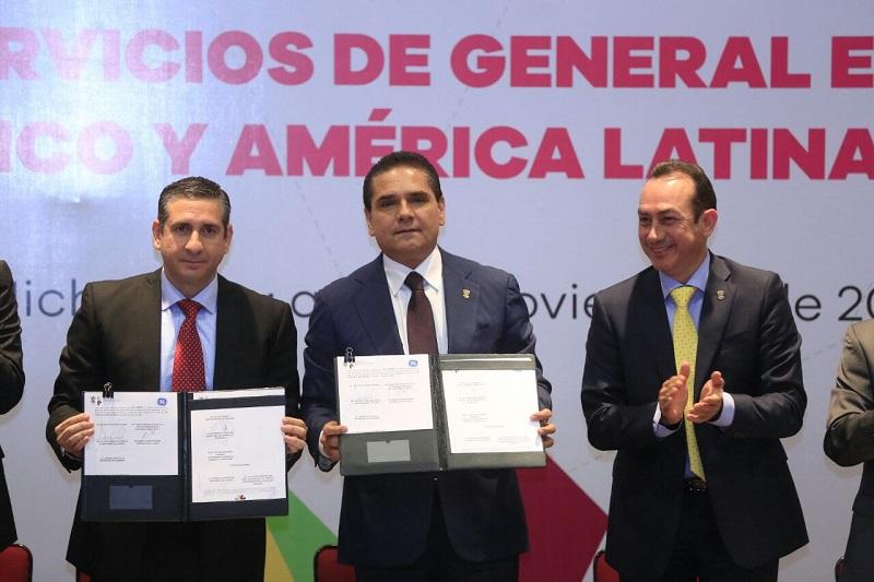 En su mensaje, el mandatario estatal destacó que con este tipo de noticias se elimina la percepción de riesgo de inversión en Michoacán, lo que ayuda en la generación de nuevos empleos para las y los michoacanos