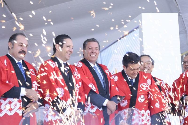 Guanajuato se ubica como el único estado del país en contar con 7 armadoras en su territorio, consolidándose como el clúster automotriz más dinámico de América Latina: Márquez Márquez